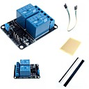 Buy 2 Channel Electric Relay Module Expansion Board Optocoupler Accessories Arduino