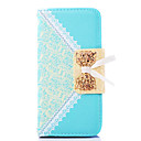 Bud Silk Pattern PU Leather Case with Stand for Samsung Galaxy S3 MINI I8190(Assorted Color)