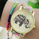 The New Women's Original Ethnic Woven Korean Version Exquisite Handmade DIY Elephant  Bracelet Watch