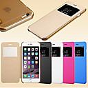 Smart View Screen Touch PU Leather Case for iPhone5C (Assorted Colors)