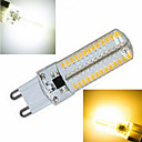 1 pcs G9 15W 104X SMD 5730 2800-3500/6000-6500LM 2800-3500/6000-6500K Warm White/Cool White Corn Bulbs AC 220V