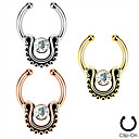 Buy Body Piercing Jewellery Bohemia Ethnic Stainless Steel Crystal Nose Ring Jewelry