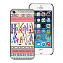 Buy HAKUNA MATATA Design PC Hard Case iPhone 5/5S