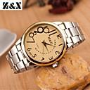 Buy Men's Fashion Diamond Number Gold Quartz Analog Steel Belt Watch(Assorted Colors) Cool Watch Unique