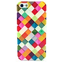 Color Box Pattern TPU Soft Case for iPhone 5/5S
