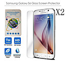 Ultra Thin HD Clear Explosion-proof Tempered Glass Screen Protector for Samsung Galaxy S6 G9200(2PCS)