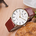 Buy Men's Watches Korean Fashion Belt Hand Watch Rome Words Cool Unique