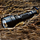 c8 5-mode Cree XR e Q5 LED lommelygte (1x18650, sort)
