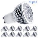Faretti LED LED ad alta intesità MORSEN MR16 GU10 5W Intensità regolabile 350-400 LM Bianco caldo / Luce fredda 10 pezziAC 220-240 / AC