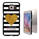 Believe in Yourself Design Aluminum Hard Case for Samsung Galaxy S6