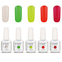 Buy Gelpolish Nail Art Soak UV Gel Polish Color Manicure Kit 5 Colors Set S123