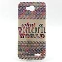 Buy Stripe Pattern TPU Material Soft Phone Case LG L90 D405