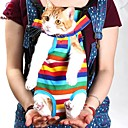 FUN OF PETS® Pet Travel Bag Cat Carrier Bag for Small Dogs Pet Five Holes Backpack Front Chest Backpack(Assorted Sizes)