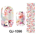 Beautiful Flower Fairy Various Flowers Nail Art Stickers