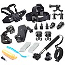 New Style 12 in 1 Accessories Kit for Gopro Hero4 Black Silver Hero HD 3+/3/2/1 Camera