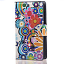 Multi-flower PU Leather Wallet Full Body Case with Stand for Microsoft Lumia 532