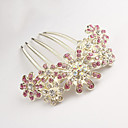 Buy Z&X® Korean Style Elegant Flower Alloy Hair Combs Party/Casual 1pc