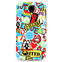 Buy 3D Personality Red Graffiti Pattern PC Back Cover Case Samsung Galaxy S4/9500
