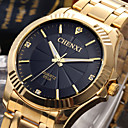 CHENXI Golden Fashion Men Watch Stainless Steel Quartz Wrist Watch