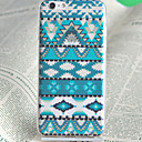 Blue Decorative Pattern Pattern TPU Soft Back Case for iPhone 6/6S