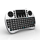 Rii mini i8+ Wireless Backlight Keyboard with Touchpad(Assorted color)