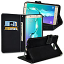 Hot Sale PU Mouse Lines Stand Wallet Phone Cover Cases for Samsung Galaxy S6 Edge Plus (Assorted Color)