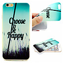 Buy Letter Pattern TPU Cell Phone Soft Shell iPhone 6 Plus