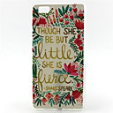 Buy Huawei Case / P8 Lite Ultra-thin Back Cover Word Phrase Soft TPU