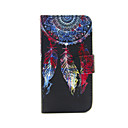 Buy iPhone 5 Case Card Holder / Wallet Stand Flip Pattern Full Body Dream Catcher Hard PU Leather SE/5s/5