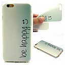 Buy Smile Pattern TPU Cell Phone Soft Shell iPhone 6 Plus