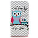 Buy Owl always love Design PU leather phone Case LG Leon H340N