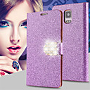 Buy Shiny Diamond Full PU Leather Case Cover Safe Buckle Cell Phone Bling Samsung Galaxy Note 3/Note 4/Note 5