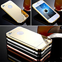 Buy Luxury Aluminum Metal Frame Case + Ultra Slim Acrylic Mirror Back Cover iPhone 4/4S