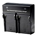 Dual Digital Battery Charger for SONY NP-F970 F750 F550 F960 QM91D FM50 FM500H