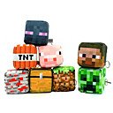 Minecraft Plush Toys Cotton Stuffed Key Chain Toy Collection 10*10cm