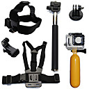 6pcs In 1 Gopro Accessories Mount / Straps / Accessory Kit ForGopro Hero 2 / Gopro Hero 3 / Gopro Hero 3+ / All Gopro / Gopro Hero 4 /