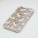 Buy Pattern Heart Fluorescent Liquid Quicksand Unicorn PC Case iPhone 7 Plus 6s 6 SE 5s 5