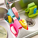 Multifunction Kitchen and Bathroom Drain Saddle Shaped Bracket (Random Color)