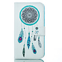 Wind Chime Pattern Card Stand Leather Case for Samsung Galaxy J1/J5