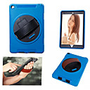 Three Flying Wheel Belt stent PC TPU Materials Leather Full Body Case for iPad Mini 4(Assorted Colors)