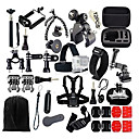 Gopro Accessories 46-in-1 Accessories Kit for Gopro Hero4s 4 3+ 3 2 1