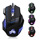 7 knapp ledet optisk usb kablet 5500 dpi gaming pro spill mus for pro gamer