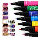 manicure pittura pennellate penna penna di arte del manicure penna di arte del chiodo fissato chiodo diy 1pc