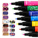 manicure maleri penselstrøg kunst manicure pen pen sæt nail art pen DIY søm 1pc