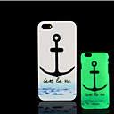 Buy Anchors Pattern Glow Dark Hard Plastic Back Cover iPhone 5 5s Case