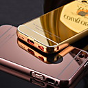 Luxury Plated Metal Frame Adds Transparent Acrylic Cover Phone Shell Case for iPhone 5C (Assorted Colors)