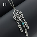 Buy Necklace Pendant Necklaces Jewelry Wedding / Party Daily Casual Fashion Alloy Silver 1pc Gift