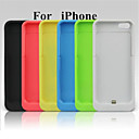 2200mAh externo de reserva portable del cargador Adapter Pack Case banco para el iPhone 5/5s