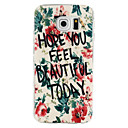Buy Samsung Galaxy S7 Edge Pattern Case Back Cover Flower TPU Active / plus edge S6