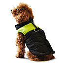 Dog Coat / Vest / Clothes/Clothing Blue / Pink / Gray Winter / Spring/Fall Classic / Color Block Waterproof